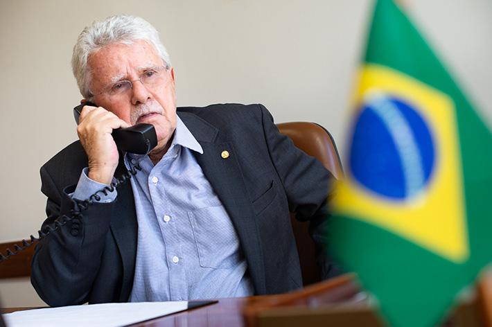 Deputado Luiz Antônio concede entrevista ao Jornal da Região