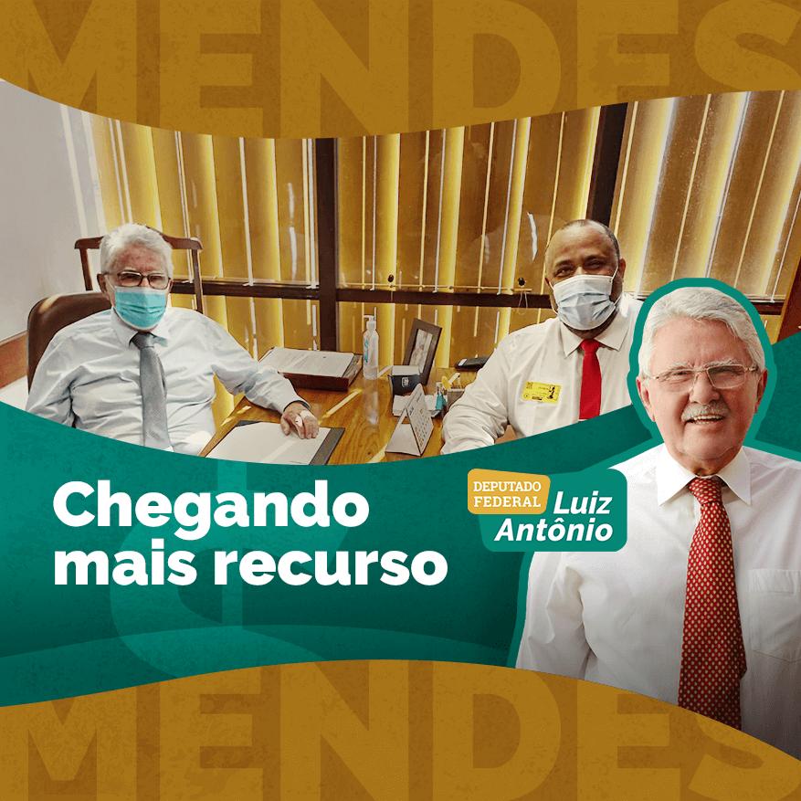 As emendas parlamentares propostas somam quase R$ 400 mil e foram comemoradas pelo prefeito Jorge Henrique